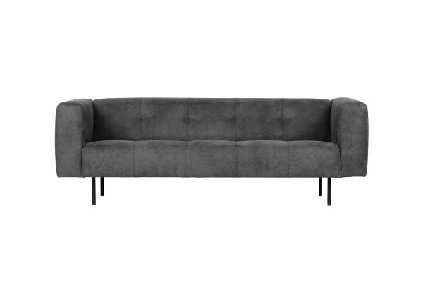 Sofa Skin 2,5 Sitzer 213 cm - Stoff Dunkelgrau