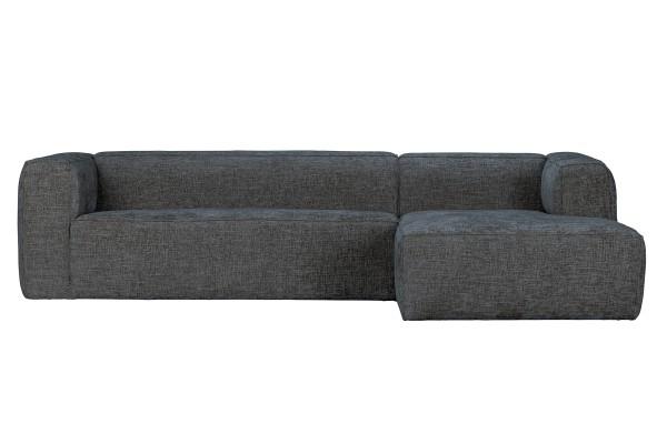 Longchair-Sofa Bean Rechts - Stoff Terrazzo