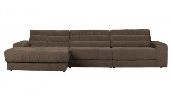 Longchair-Sofa Date Links - Vintage Brown