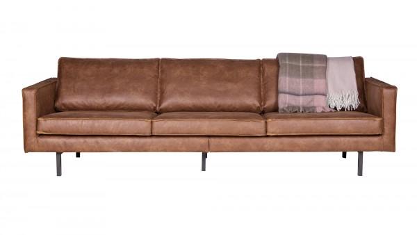 Sofa Rodeo 3-Sitzer - Leder Cognac