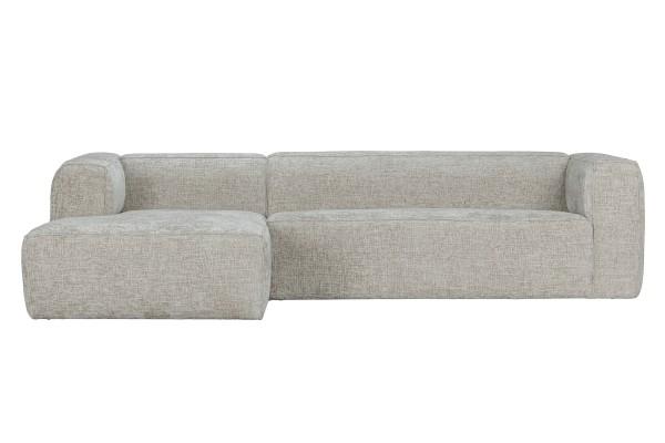 Longchair-Sofa Bean Links - Stoff Naturel