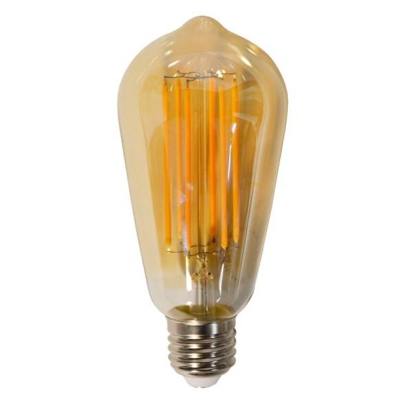 Glühbirne LED 6 Watt Filament Tröpfchen E27